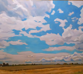 Field in Guilford County_Henry Link_The Mahler Fine Art